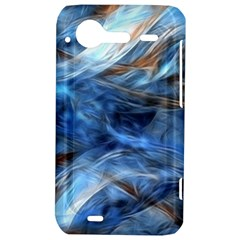 Blue Colorful Abstract Design  HTC Incredible S Hardshell Case