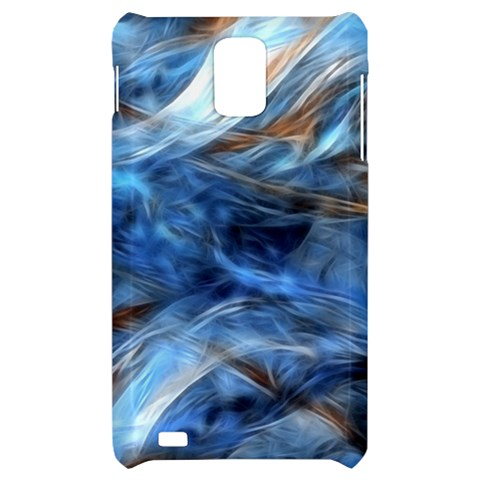 Blue Colorful Abstract Design  Samsung Infuse 4G Hardshell Case