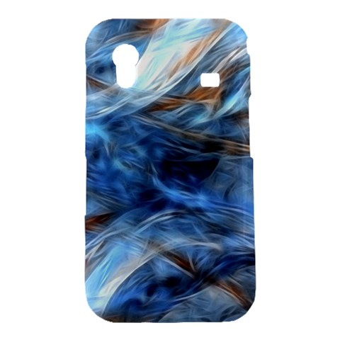 Blue Colorful Abstract Design  Samsung Galaxy Ace S5830 Hardshell Case