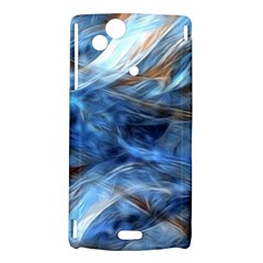 Blue Colorful Abstract Design  Sony Xperia Arc