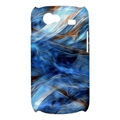 Blue Colorful Abstract Design  Samsung Galaxy Nexus S i9020 Hardshell Case