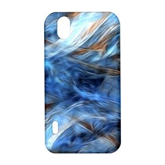 Blue Colorful Abstract Design  LG Optimus P970