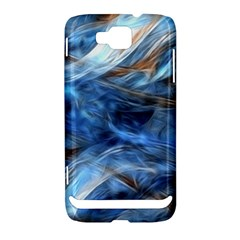 Blue Colorful Abstract Design  Samsung Ativ S i8750 Hardshell Case