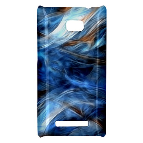 Blue Colorful Abstract Design  HTC 8X