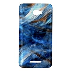 Blue Colorful Abstract Design  HTC Butterfly X920E Hardshell Case