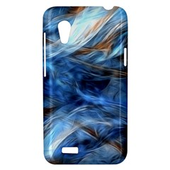 Blue Colorful Abstract Design  HTC Desire VT (T328T) Hardshell Case