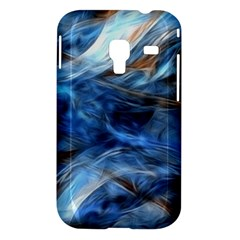 Blue Colorful Abstract Design  Samsung Galaxy Ace Plus S7500 Hardshell Case