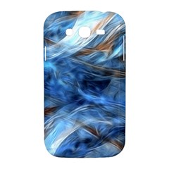 Blue Colorful Abstract Design  Samsung Galaxy Grand DUOS I9082 Hardshell Case