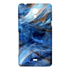 Blue Colorful Abstract Design  Sony Xperia T