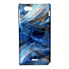 Blue Colorful Abstract Design  Sony Xperia J