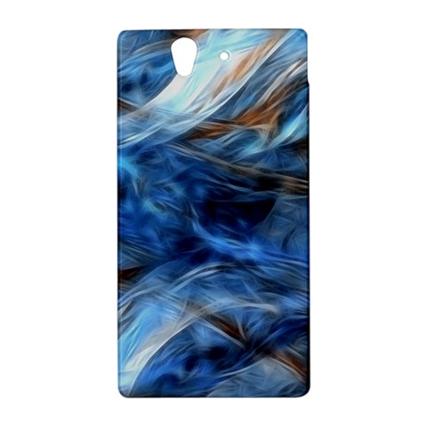 Blue Colorful Abstract Design  Sony Xperia Z