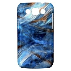 Blue Colorful Abstract Design  Samsung Galaxy Win I8550 Hardshell Case