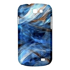 Blue Colorful Abstract Design  Samsung Galaxy Express I8730 Hardshell Case