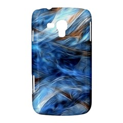 Blue Colorful Abstract Design  Samsung Galaxy Duos I8262 Hardshell Case