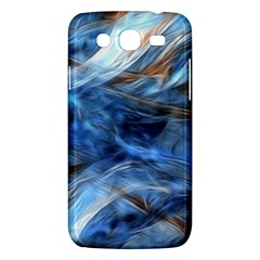 Blue Colorful Abstract Design  Samsung Galaxy Mega 5 8 I9152 Hardshell Case