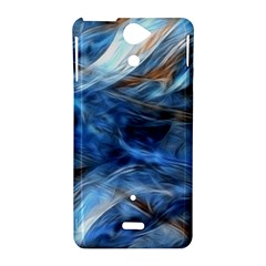 Blue Colorful Abstract Design  Sony Xperia V