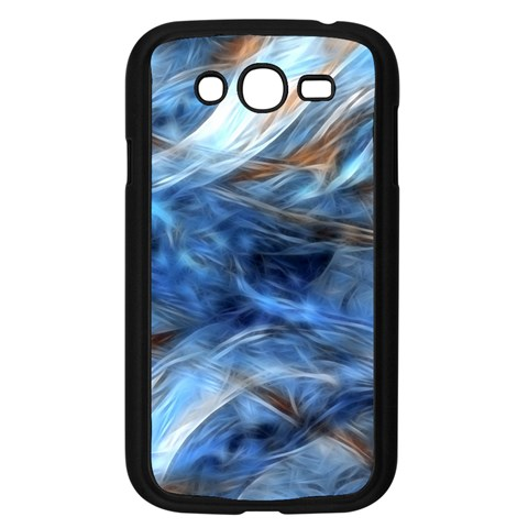 Blue Colorful Abstract Design  Samsung Galaxy Grand DUOS I9082 Case (Black)