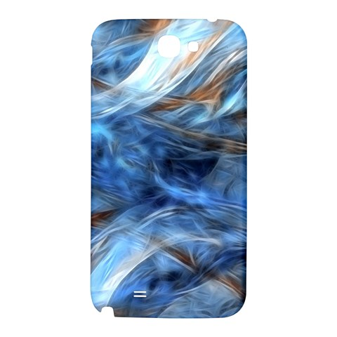 Blue Colorful Abstract Design  Samsung Note 2 N7100 Hardshell Back Case