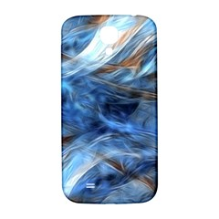 Blue Colorful Abstract Design  Samsung Galaxy S4 I9500/I9505  Hardshell Back Case