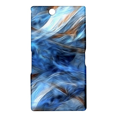 Blue Colorful Abstract Design  Sony Xperia Z Ultra