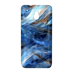 Blue Colorful Abstract Design  HTC One Mini (601e) M4 Hardshell Case