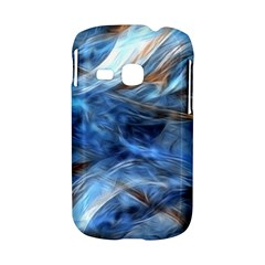 Blue Colorful Abstract Design  Samsung Galaxy S6310 Hardshell Case