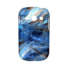 Blue Colorful Abstract Design  Samsung Galaxy S6810 Hardshell Case