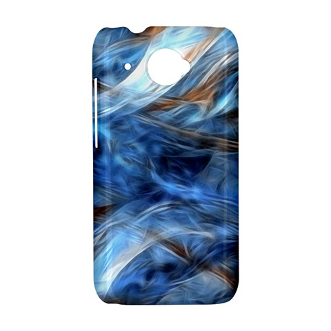 Blue Colorful Abstract Design  HTC Desire 601 Hardshell Case