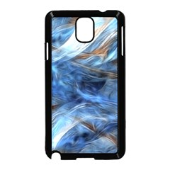 Blue Colorful Abstract Design  Samsung Galaxy Note 3 Neo Hardshell Case (black)