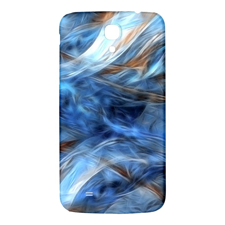 Blue Colorful Abstract Design  Samsung Galaxy Mega I9200 Hardshell Back Case