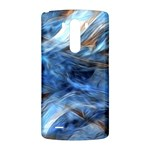 Blue Colorful Abstract Design  LG G3 Back Case Front