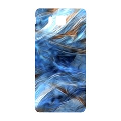Blue Colorful Abstract Design  Samsung Galaxy Alpha Hardshell Back Case
