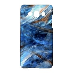 Blue Colorful Abstract Design  Samsung Galaxy A5 Hardshell Case