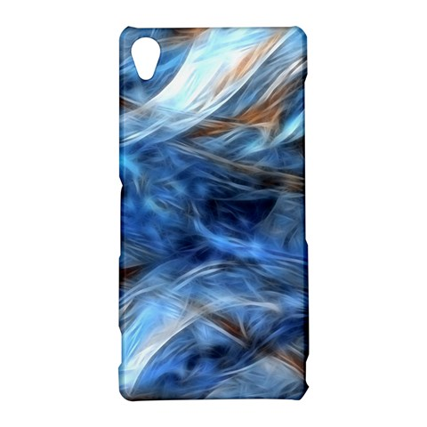 Blue Colorful Abstract Design  Sony Xperia Z3