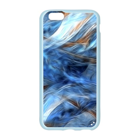 Blue Colorful Abstract Design  Apple Seamless iPhone 6/6S Case (Color)