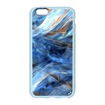 Blue Colorful Abstract Design  Apple Seamless iPhone 6/6S Case (Color) Front