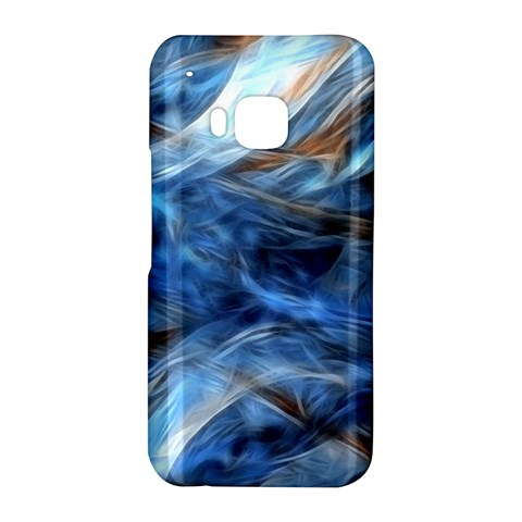 Blue Colorful Abstract Design  HTC One M9 Hardshell Case
