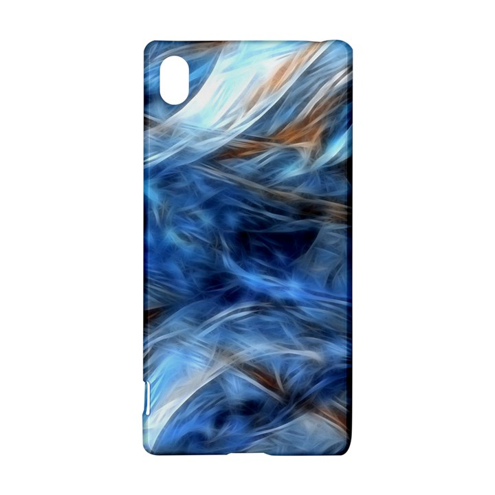 Blue Colorful Abstract Design  Sony Xperia Z3+
