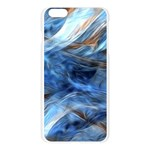 Blue Colorful Abstract Design  Apple Seamless iPhone 6 Plus/6S Plus Case (Transparent) Front