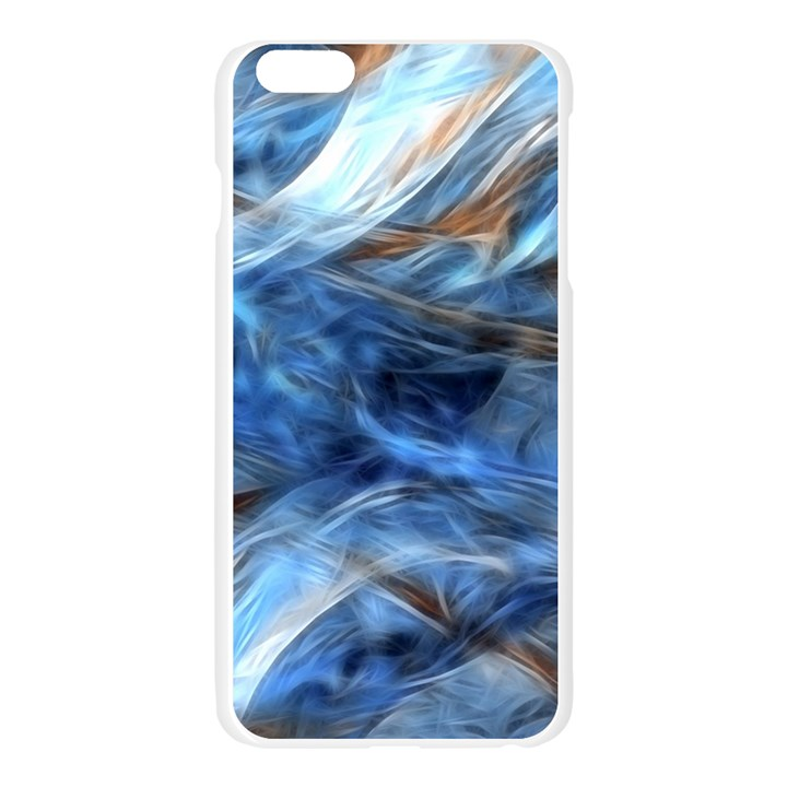 Blue Colorful Abstract Design  Apple Seamless iPhone 6 Plus/6S Plus Case (Transparent)