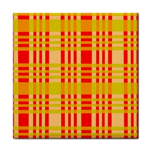 Check Pattern Tile Coasters
