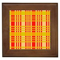 Check Pattern Framed Tiles
