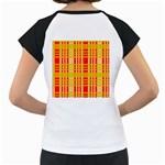 Check Pattern Women s Cap Sleeve T Back
