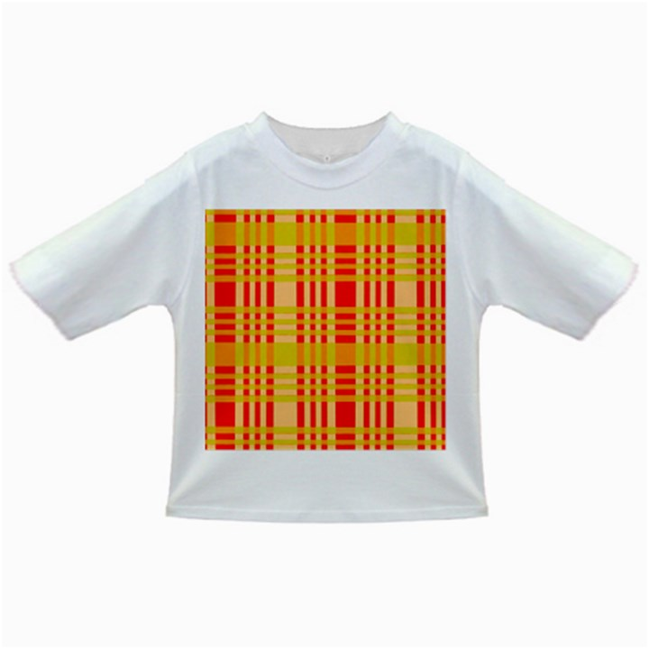 Check Pattern Infant/Toddler T-Shirts
