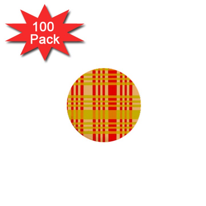 Check Pattern 1  Mini Buttons (100 pack)