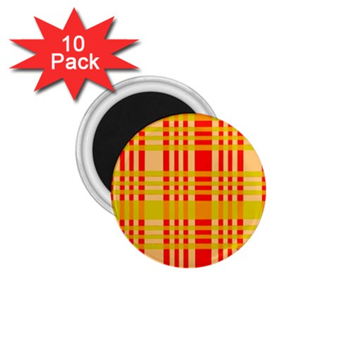 Check Pattern 1.75  Magnets (10 pack)