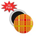 Check Pattern 1.75  Magnets (10 pack)  Front
