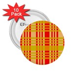 Check Pattern 2.25  Buttons (10 pack)  Front