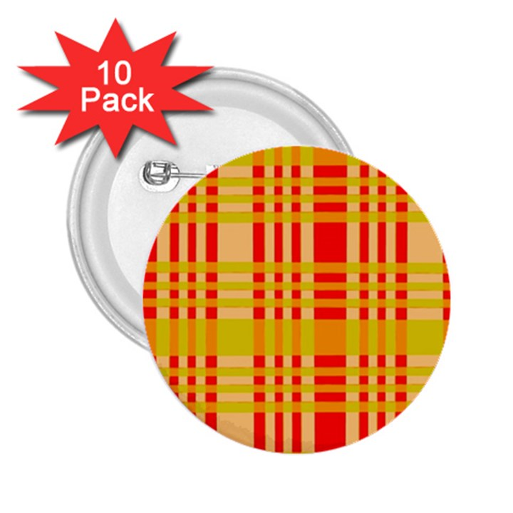 Check Pattern 2.25  Buttons (10 pack)