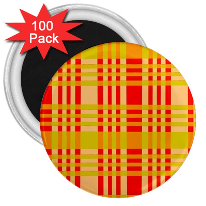 Check Pattern 3  Magnets (100 pack)
